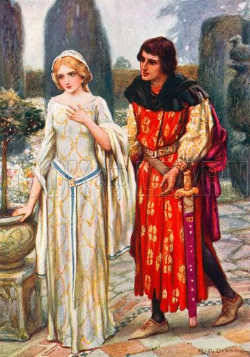 Elaine e Lancelote